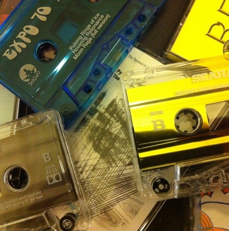 Cassette Culture is alive and well in the analogue world...