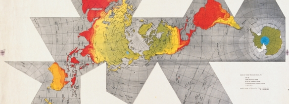 The Fuller Projection or Dymaxion Map