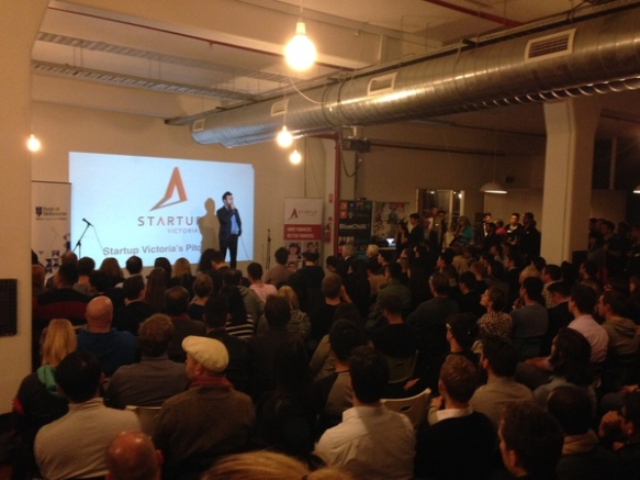 Picture sourced from Startup Victoria Meetup page