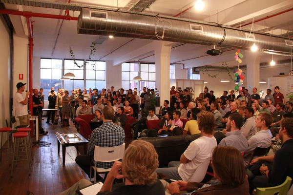 Image sourced from Startup Victoria's Meetup site
